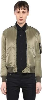 Saint Laurent Nylon Bomber Jacket