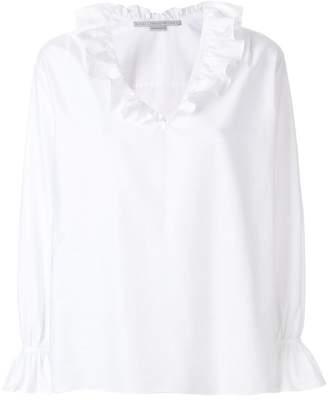 Stella McCartney ruffle neck blouse
