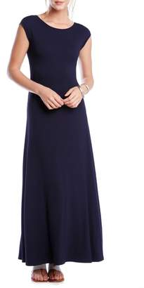 Karen Kane V-Back A-Line Maxi Dress