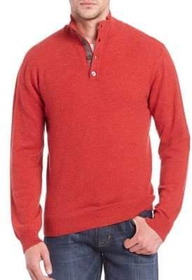 Saks Fifth Avenue Turtleneck Cashmere Sweater