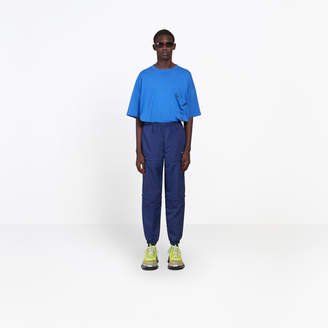 Balenciaga Lightweight nylon 3 in 1 tracksuit pants