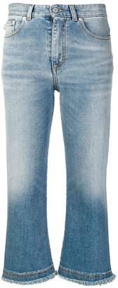 Fiorucci cropped flared jeans