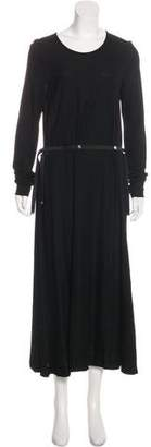 Maison Margiela Jersey Maxi Dress