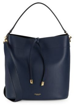 MICHAEL Michael Kors Solid Leather Shoulder Bag