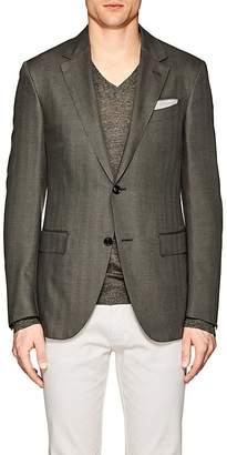 Ermenegildo Zegna Men's Milano Easy Cashmere-Silk Two-Button Sportcoat