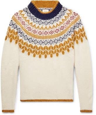 Bellerose Fair Isle Shetland Wool Sweater
