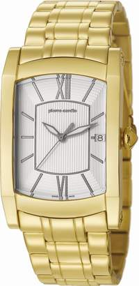 Pierre Cardin Men's Quartz Watch Analogue Display And Stainless Steel Strap Dial Color