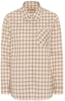 Burberry (バーバリー) - Burberry Checked cotton shirt