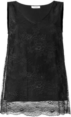 Twin-Set floral lace vest