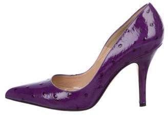 Michael Kors Embossed Patent Leather Pumps
