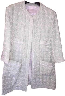 Green Cotton Zara Coat for Women