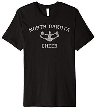 Dakota North Cheer Shirt Retro Vintage Cheerleading Gift