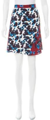 Tanya Taylor Ava Silk Wrap Skirt