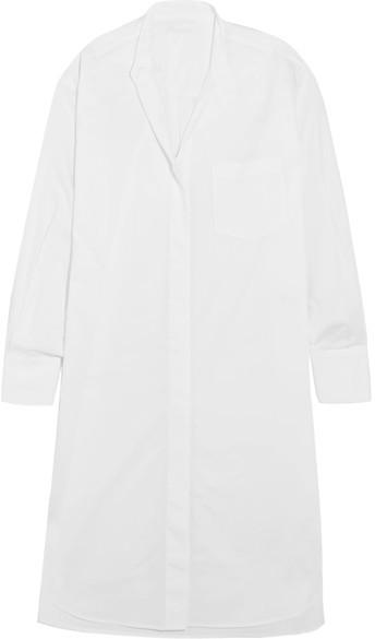 DKNY - Cotton-poplin Tunic - White