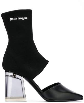 Palm Angels sock-fit pumps