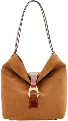 Dooney & Bourke Derby Suede Large Hobo