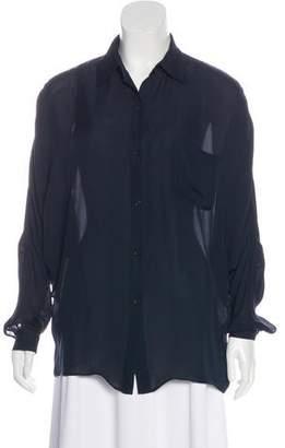 Jenni Kayne Button-Up Silk Top