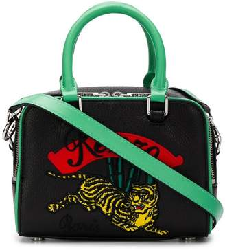 Kenzo Tiger embroidered bowling bag