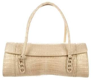 Nancy Gonzalez Metallic Crocodile Bag