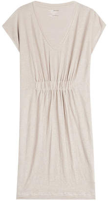 Majestic Stretch Linen Dress