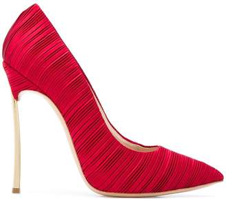 Casadei classic pleated pumps