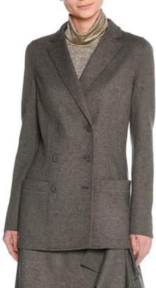 Tomas Maier Felted Wool Double-Breasted Blazer