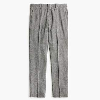 J.Crew Ludlow Slim-fit suit pant in Italian herringbone flannel wool blend