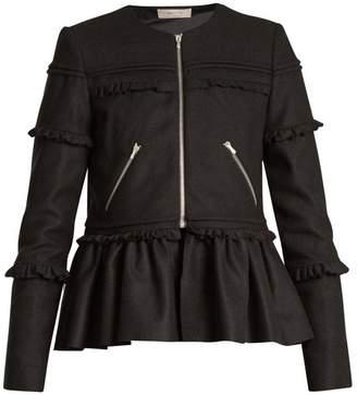 Preen Line Alice Wool Blend Jacket - Womens - Black
