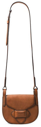 MICHAEL Michael Kors Michael Kors Collection Small Leather Saddle Crossbody Bag