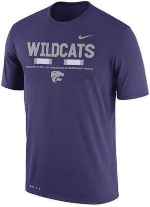 Nike Men's Kansas State Wildcats Legend Staff Sideline T-Shirt