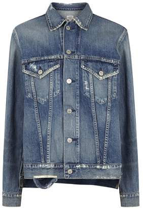Citizens of Humanity Crista Distressed Oversized Denim Jacket