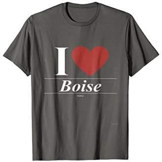 I Love Boise Idaho T Shirt