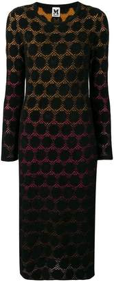 M Missoni geometric motif tube dress