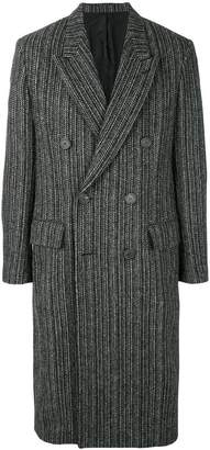 Ami Alexandre Mattiussi Double Breasted Long Coat