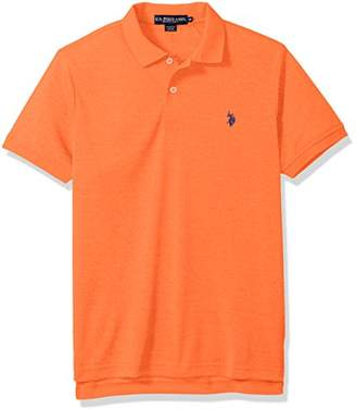 U.S. Polo Assn. Men's Classic Fit Solid Short Sleeve Poly Shirt