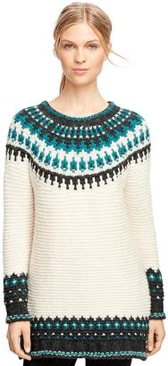 Wool Blend Fair Isle Sweater $328 thestylecure.com
