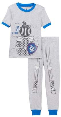 Petit Lem Knight Pajama Set (Toddler & Little Boys)