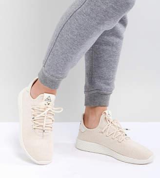 adidas Pharrell Williams Tennis Hu Sneakers In Beige