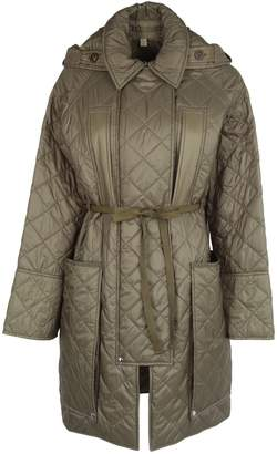 Burberry England Diamond Quilted Hooded Coat