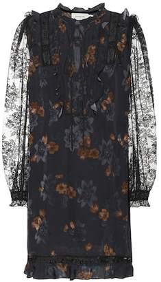 Coach Floral lace minidress