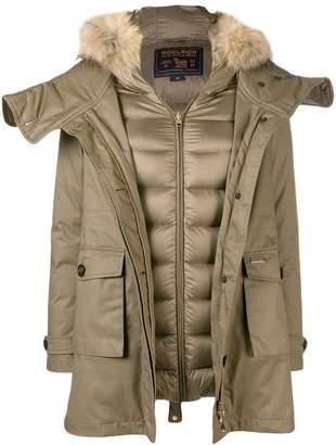 Woolrich parka jacket