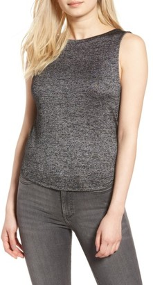 Women's Trouve Twist Back Tank $59 thestylecure.com