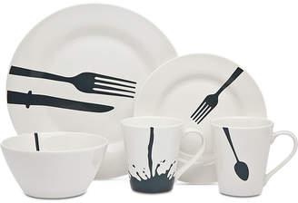 Godinger Acme 16-Pc. Dinnerware Set