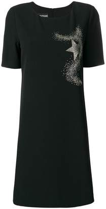 Moschino embellished star detail dress
