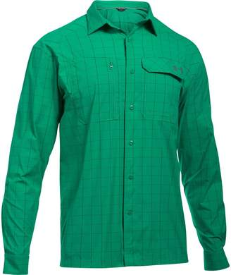 Under Armour Fish Hunter Long-Sleeve Plaid Shirt - Men's