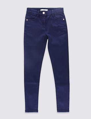 Marks and Spencer Cotton Super Skinny Jeans with Stretch (3-14 Years)