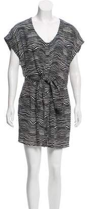Pierre Balmain Printed Sleeveless Dress