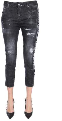 DSQUARED2 Cropped Fit Cool Girl Jeans