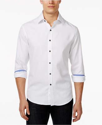 Tasso Elba Men Paisley Jacquard Shirt