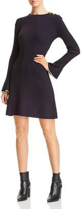 Tory Burch Flare Sleeve Sweater Dress